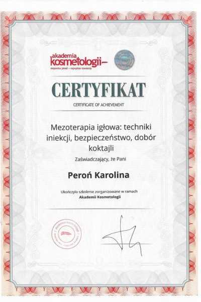 CERT_AkademiaKosmetologii_MezoterapiaIglowa_503615