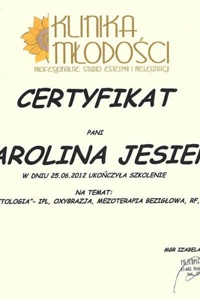 CERT_KlinikaMlodosci_NowoczesnaKosmetologia_2012_415015