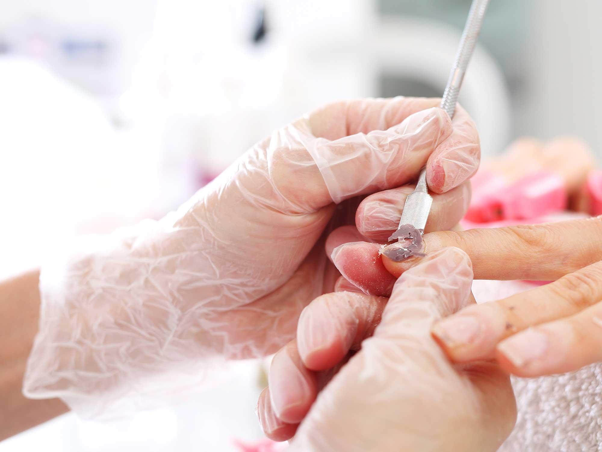 Manicure hybrydowy#002
